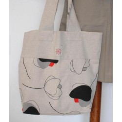 Beige Tulip women bag
