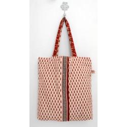 Summer Cream cotton bag