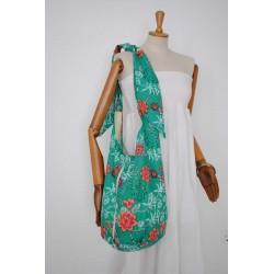 Πράσινη Χειροποιητη τσάντα - Γυναικείες τσάντες