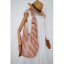 Μπορντο πουα γυναικείες τσάντες - Χειροποίητες τσάντες