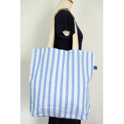 White & Light Blue womens handbags Paros