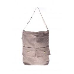 Light Brown handmade bag summer 2018