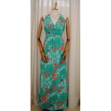 Maxi Woman Floral Dress